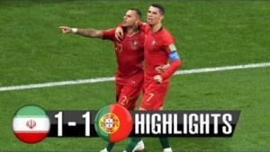 Video: Iran vs Portugal 1-1 2018 - Match Preview WC with English Commentary 25/06/2018 HD 720p